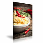 FOOD & DRINK Spice Pepper Canvas Framed Printed Wall Art 20 ~ More Size