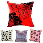 Flower polyester Square Pillow Case Throw Cushion Cover Home Sofa Car Decor New