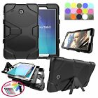 New Heavy Duty Rugged Armor Hybrid Silicone Stand Case For Samsung Galaxy Tablet