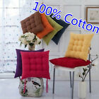 Tie On Dotty Chunk Pad Chair Pads Seat Cushions For Dining Room Garden Kitchen