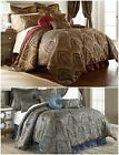 Chezmoi Collection Seville 9-piece Jacquard Paisley Oversized Comforter Set image