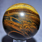 Tiger's Eye with Hematite 3.99 inch 3.62 lb Natural Crystal Sphere - South Afric