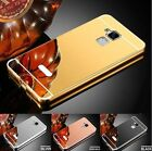 Mirror Aluminum Case For Asus Zenfone 3 Max ZC520TL Metal Frame Plated Acrylic