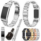 Replacement Metal Stainless Steel Watch Band Clasp Bracelet For Fitbit Charge 2 image
