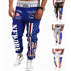 New Men's Casual Sweatpants Baggy Harem Slacks Trousers Jogger Dance Sportwear