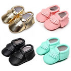 Lovely Baby Kids PU Leather Soft Soled Shoes Sneaker Toddler Loafer Tassel Crib