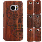 Genuine Natural Wooden Wood Bamboo Hard Pattern Case For Samsung Galaxy S6 Edge