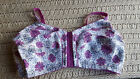 Womens Bra 100% Cotton Front Hook Close Plus Size Color Comfort Choice Wirefree