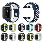 Replacement Silicone Sports Strap for Apple Watch Nike Band + Series 2 /1