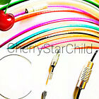 Fine Covered Cable Wire Choker Necklace Screw Clasp For Pendant Chain Syd Seller