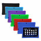"Shockproof Soft Silicone Case Cover For 7"" Q88 A23 A33 Google Android Tablet PC"