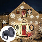 LED Moving Laser Projector Light Outdoor Christmas Garden Landscape Decor Lamp