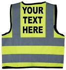 Baby/Chilren/Kids Hi Vis Safety Jacket/Vest Personalised Own Words Size 0-8Years