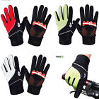 GEL PADDED FULL FINGER WINDPROOF WINTER WHEELCHAIR CYCLING BICYCLE MTB GLOVES