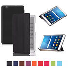 Thin Leather Case Cover, Stylus & Screen Protector For Huawei Mediapad M3 8.4