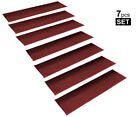 StepBasic Non-Slip Rubber Backing Skid-Resistant Carpet Stair Mat Gripper Set...