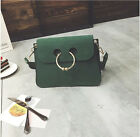US 2016 new female fashion small packet ring solid shoulder Messenger bag Clutch