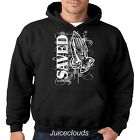 Religious Hoodie SAVED Jesus Christian Savior Cross