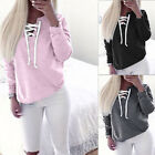 Women Long sleeve Hoodie Sweatshirt Jumper Sweater Pullover Winter Tops Coat