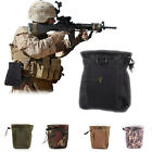 Tactical Magazine Utility Drop Dump Pouch Molle Military Ammo Bag Heavy Duty top