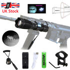 Zoomable Night Vision 5W 850nm IR Infrared 18650 Flashlight Hunting Torch Lamp