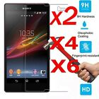 6Pcs Front 9H Clear Tempered Glass Screen Protector Film For Sony Xperia Z3 Z5