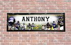 Personalized Customized Minnesota Vikings Name Poster Sport Banner with Frame $35.0 USD on eBay