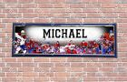 Personalized Customized Montreal Canadiens Name Poster Sport Banner with Frame $35.0 USD on eBay