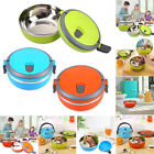 Thermal Insulated Bento Boxes Steel Stainless Lunch Box Picnic Food Container