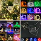 20/30/50/100 Led Battery Power Operated String Fairy Lights Christmas Xmas Party
