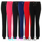 Womens Basic Full Length Jogging Bottoms Ladies Fleece Jogging Pants Trousers