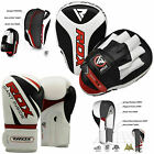 RDX Mitts Focus Punch Pad Kick Boxing Gloves MMA Punch Shield UFC Muay Thai