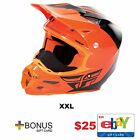 Fly Racing F2 Carbon Pure Cold Weather Helmet Offroad Free 25 Dollar Gift Card