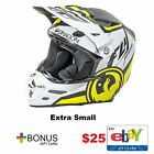Fly Racing F2 Carbon Dragon Alliance Helmet Dirtbike Quad 4 Wheeler $25 Giftcard