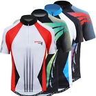 Briskbike Pro Vibrant Cycling Jersey for Road Bike, Mountain Bike, Bicycle Race