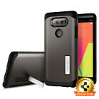 Spigen® LG V20 [Tough Armor] Shockproof Case Slim TPU Cover