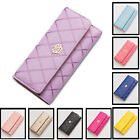 Kyпить  New Women Fashion PU Leather Wallet Case Lady Long Purse Handbag Card Holder на еВаy.соm