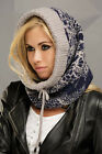 womens wool snood hood essential winter wear