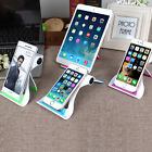 Universal Foldable Desk Mobile Phone Tablet Stand Holder For iPhone Cell Phone