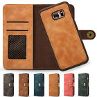 Megnetic Removable Flip Leather Wallet Case Cover Bag for Samsung Galaxy S7 Edge