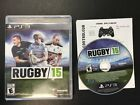 Rugby 15 - Playstation 3 PS3 - Game Complete - Free Shipping!