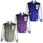 Mens Soul Star Scouting SSC Lettermen Baseball Fleece Jacket Mens Size