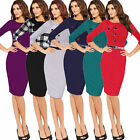 New Womens Sexy Elegant Polyester Casual Cocktail Party Sheath Bodycon Dress