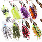 Spinnerbait Spinner Bait Baits Fishing Lures Buzz Bass Yellowbelly Cod Perch