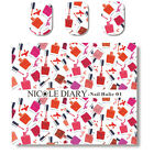 1 Sheet Nail Art Water Transfer Decal Manicure Sticker Colorful Bottles Theme