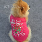 Pet Dog Christmas Clothes Dress Puppy Cat Winter Coat Hoodie Sweater Apparel