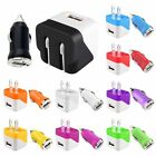 "Mini 1A Wall Charger+1A Car Charger Adapter For iPhone 7 6 4.7"" 6S Plus 5.5"""
