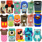 3D Cartoon Soft Silicone Back Case Cover For Samsung Galaxy S7 Edge Note 5 G5500