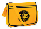 5SOS Five SOS Messenger Shoulder Bag School Collage Gym Sports Skull Round Logo