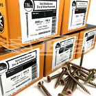 NEXT DAY PACKS OF 1000, 10g (5mm) TIMCO YELLOW WOOD SCREWS POZI COUNTERSUNK